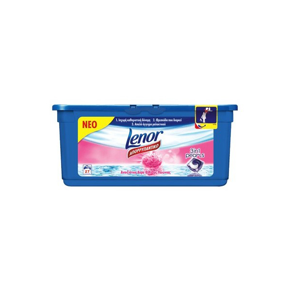 Lenor Pink 3 in 1 kapusle do prania 27 ks