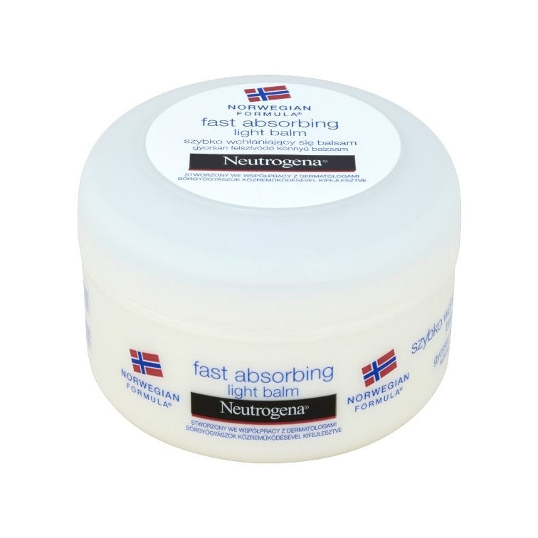 Neutrogena Fast Absorbing Light Balm balzam 200 ml