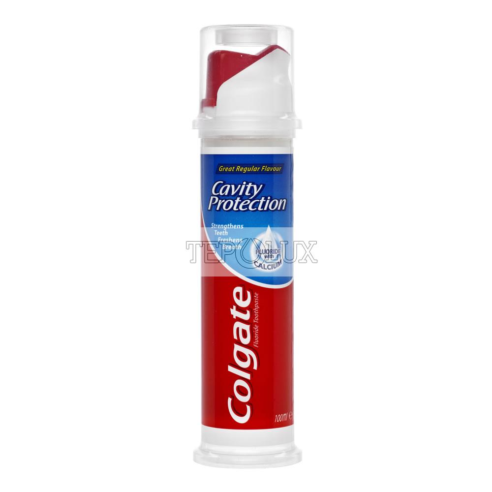 Colgate zubná pasta s pumpičkou Regular Cavity Protection 100 ml