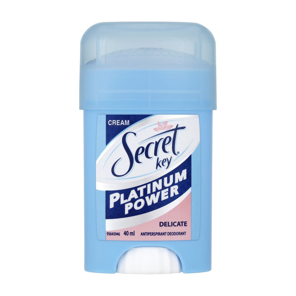 Secret Key Platinum Power Delicate deostick 40 ml