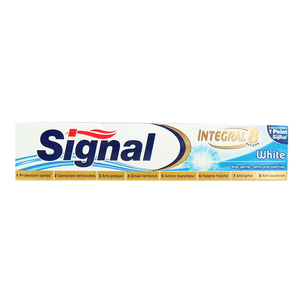 Signal Integral 8 actions White zubná pasta 75 ml