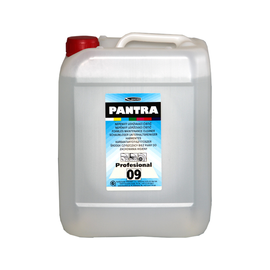 PANTRA® PROFESIONAL 09 cleaner for floor cleaning machines/ na strojové čistenie 5 l