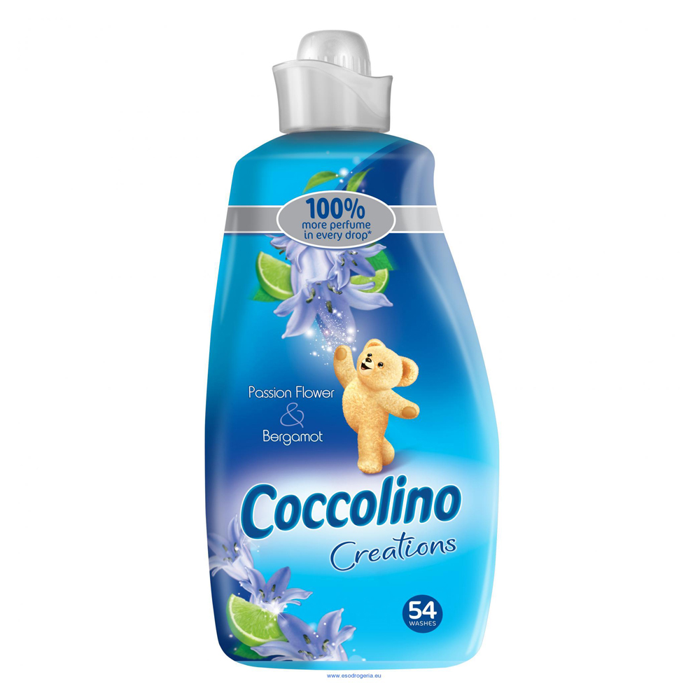 Coccolino Creations Pasion flower & Bergamot aviváž 1900 ml 54PD